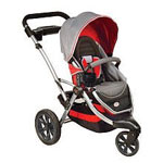 The Contours Options Stroller - Ruby
