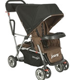 Joovy Caboose Ultralight Tandem Stroller - Brown