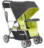 Joovy Caboose Ultralight Tandem Stroller - Green
