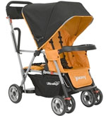 Joovy Caboose Ultralight Tandem Stroller - Orange