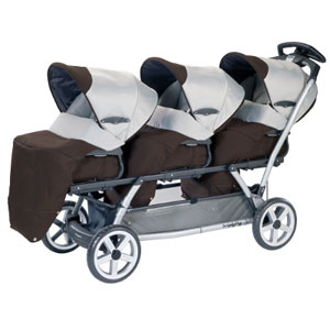 The Ideal Stroller for Triplets • Strollergy