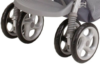 The DuoGlider Front Wheel