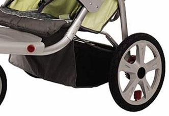 Instep Safari Double Jogger Basket