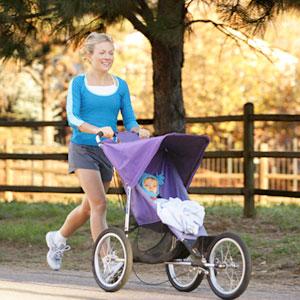 Jogging Parent