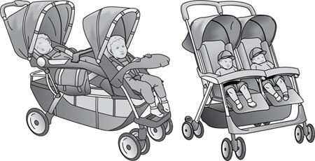 Tandem And Side-by-Side Stroller
